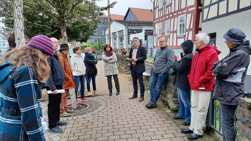 Dorfspazierung Neue Mitte Wallernhausen